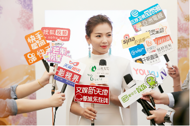 刘涛亲临美丽田园26周年欢庆会