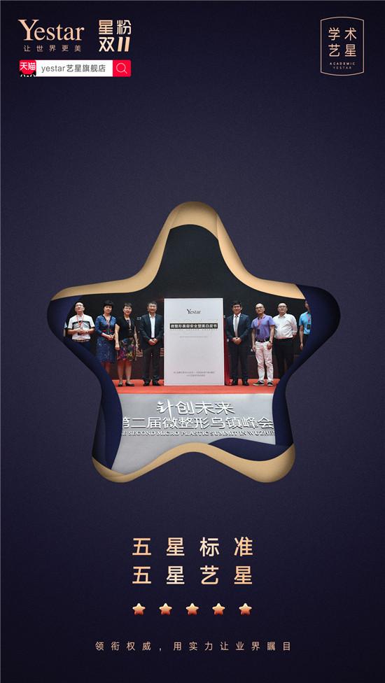 艺星品牌周年庆:学术艺星,再创医美学术新高度!